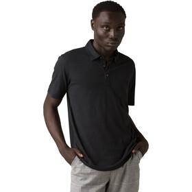 Prana Poloshirt Heren, black